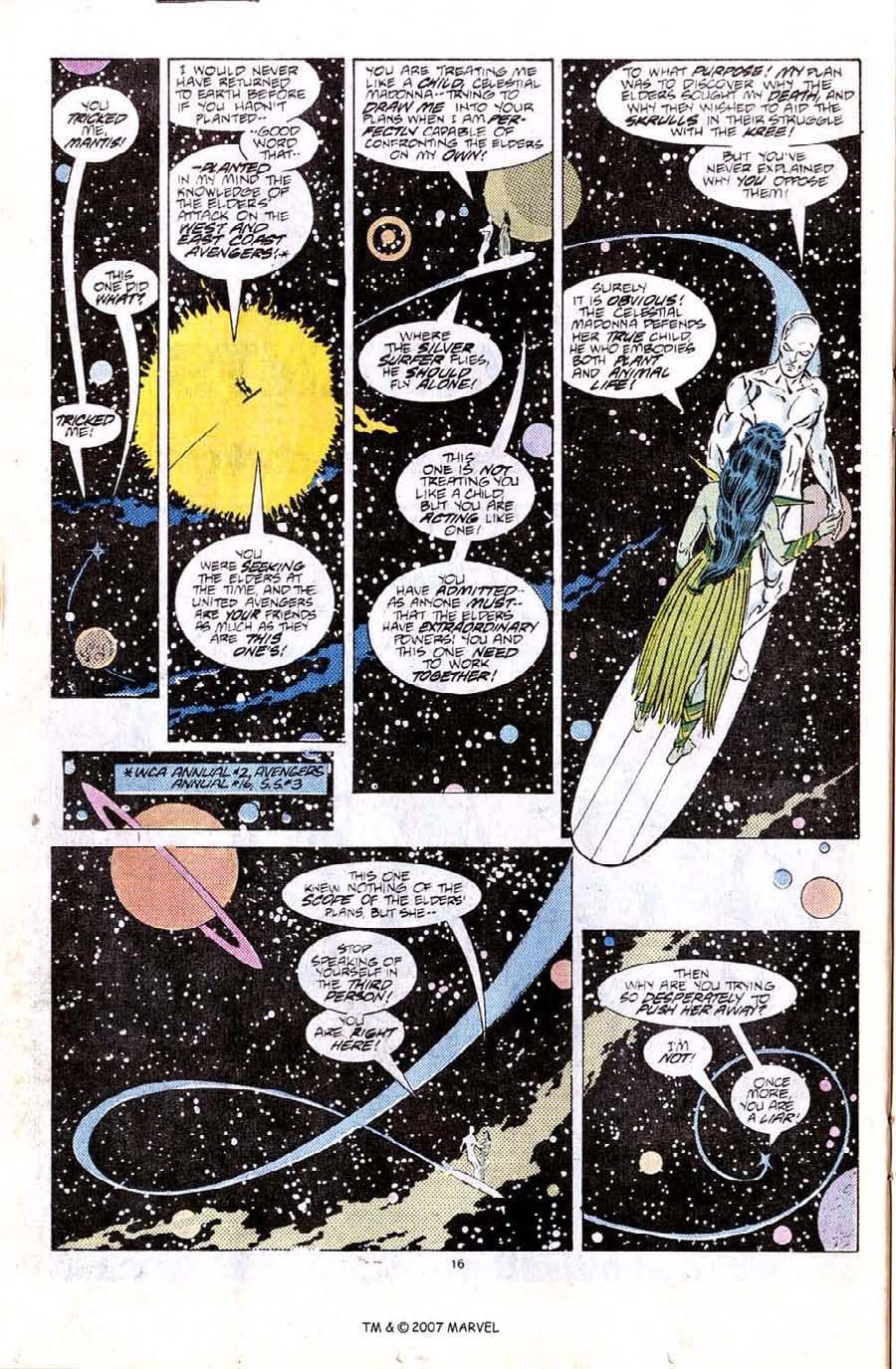 Read online Silver Surfer (1987) comic -  Issue #6 - 24