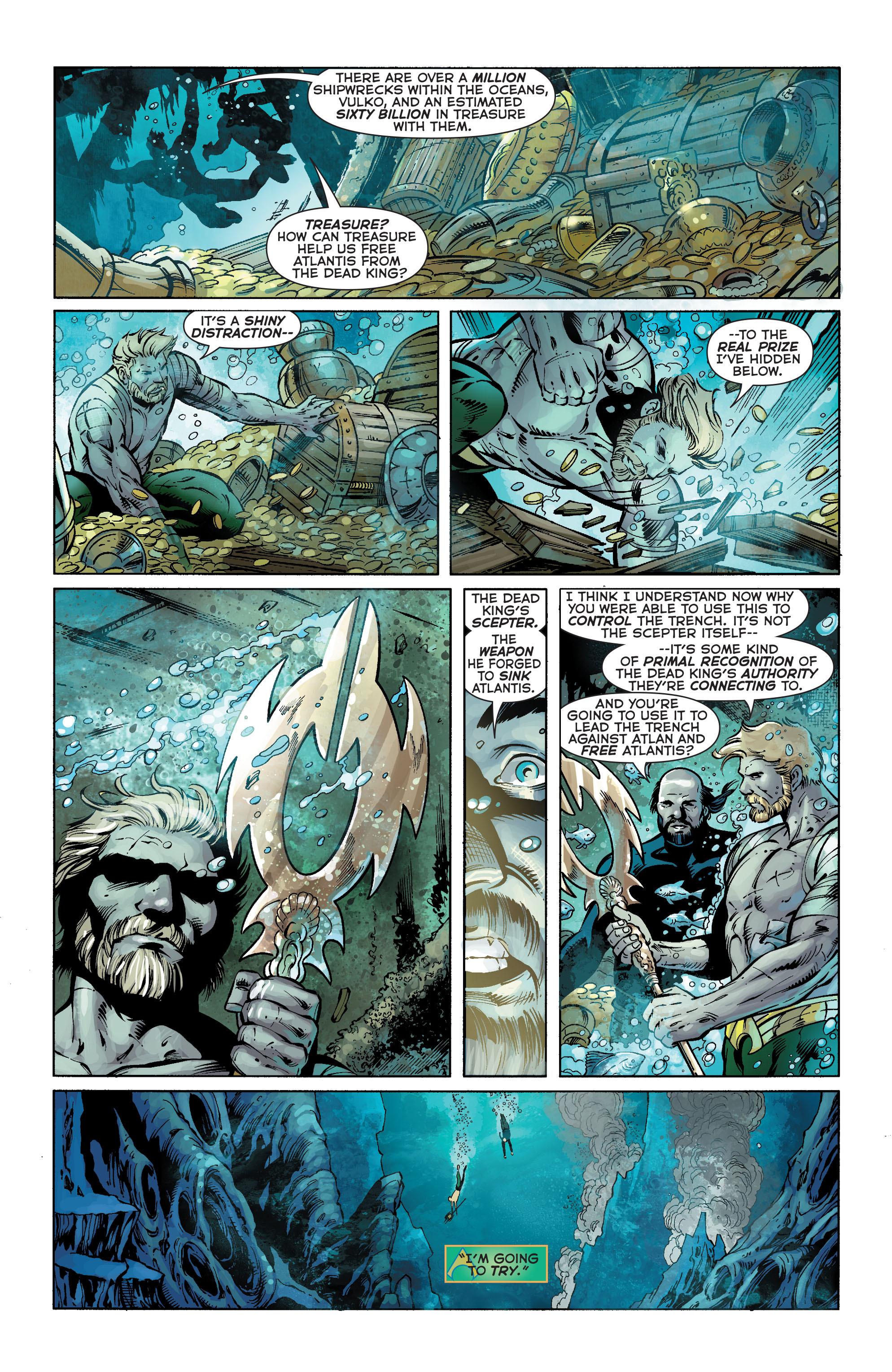 Read online Aquaman (2011) comic -  Issue #25 - 3