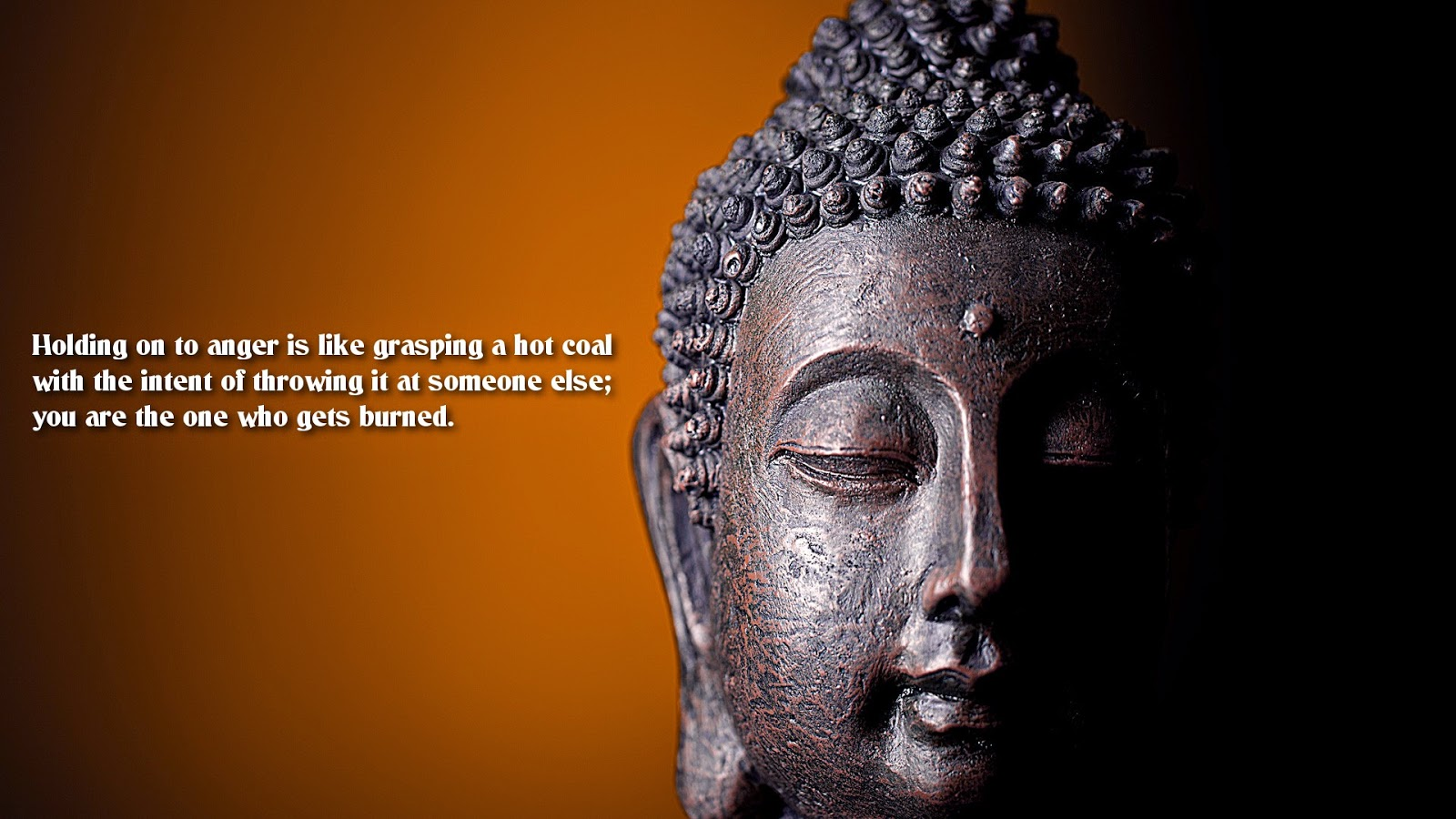 Buddha Quotes on being anger