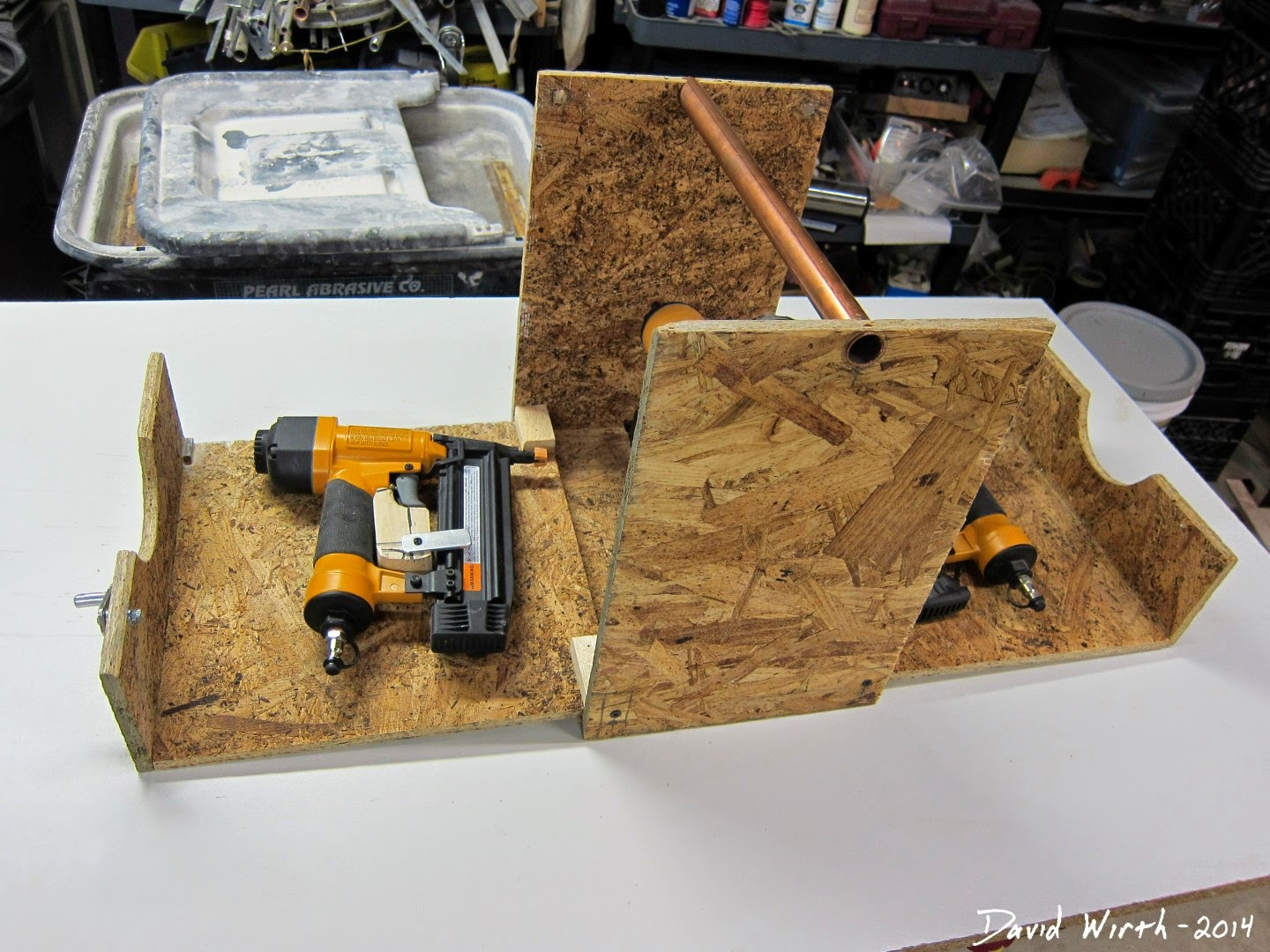how to build a folding tool box, case