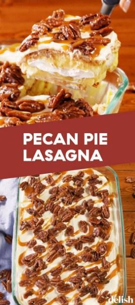 Pecan Pie Lasagna #dessert #healthyrecipe