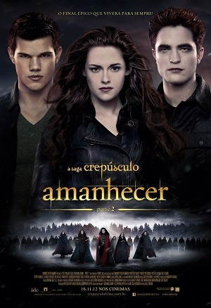 A Saga Crepúsculo - Amanhecer - Parte 2 Blu-Ray Filmes Torrent Download capa