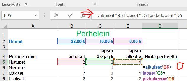 Excel v koukku