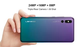 leagoo s10 cameras