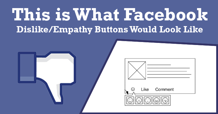 Here's What Facebook 'Dislike or Empathy Button' Would Look Like