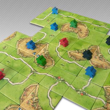 Spielanleitung Carcassonne
