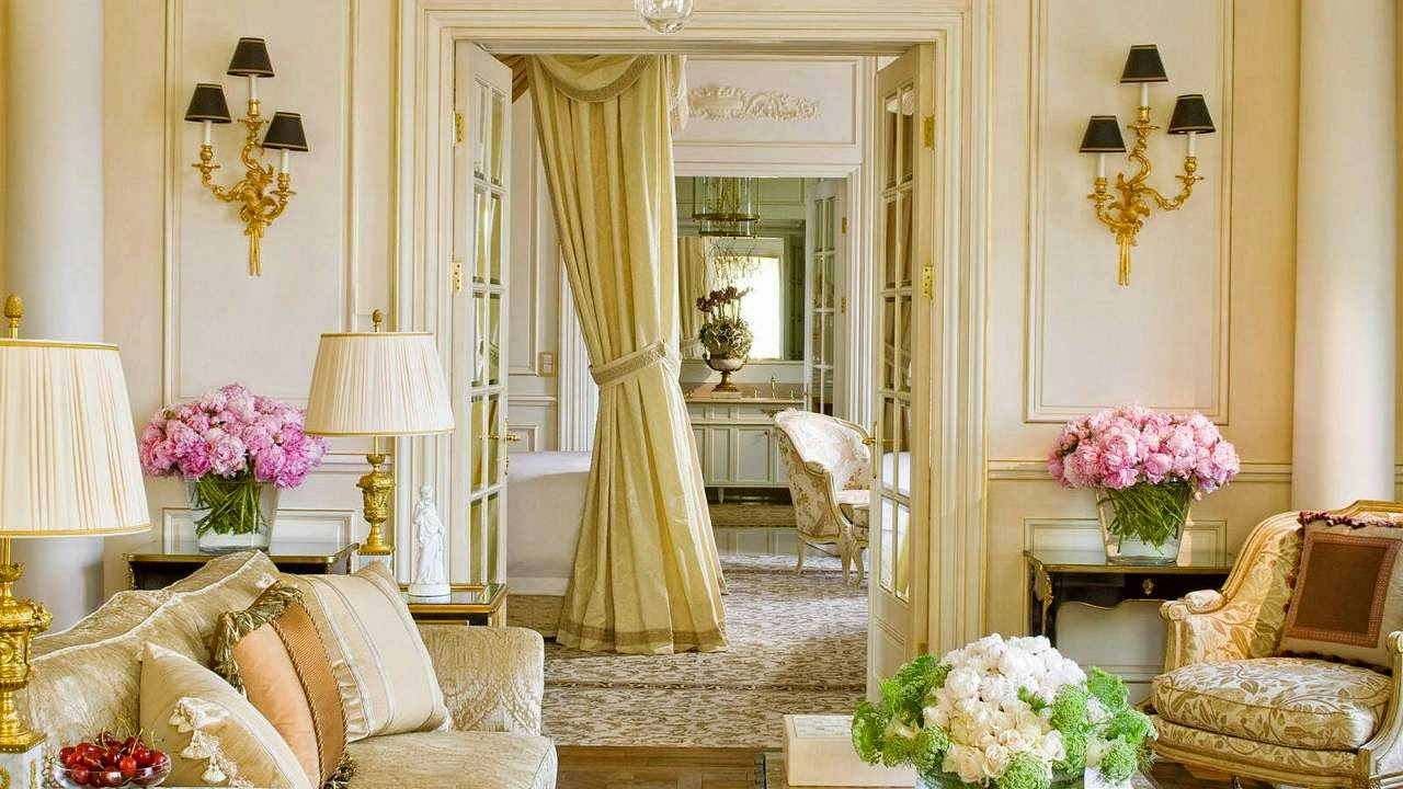 Interiors : Four Seasons Hotel des Bergues, Geneva