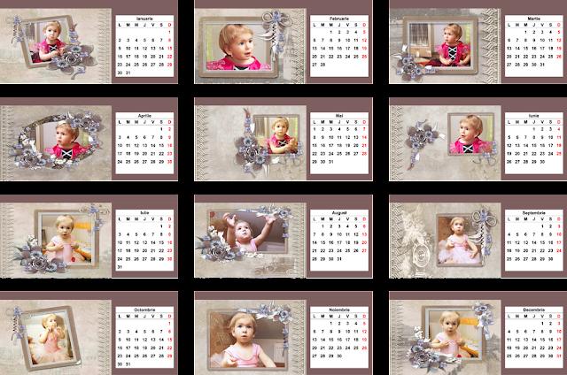 calendar de birou CAVALER