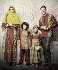 Model Baju Muslim Untuk Keluarga Terbaru