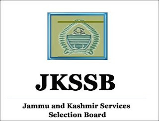 JKSSB Recruitment jkssb.nic.in Notification Apply Online Form