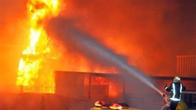 صورة أرشيفية - حريق