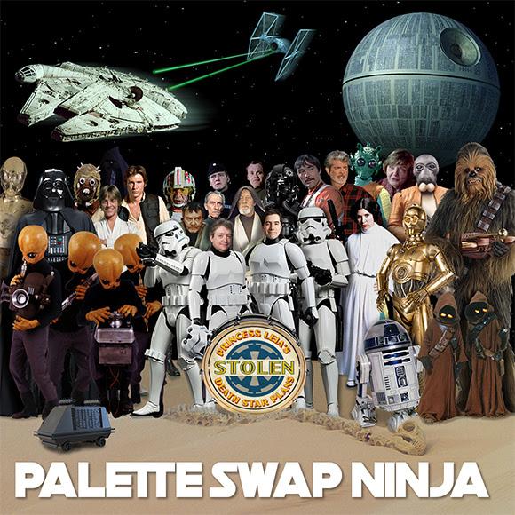 Palette-Swap Ninja mixe « Star Wars » et « Sgt. Pepper » des Beatles