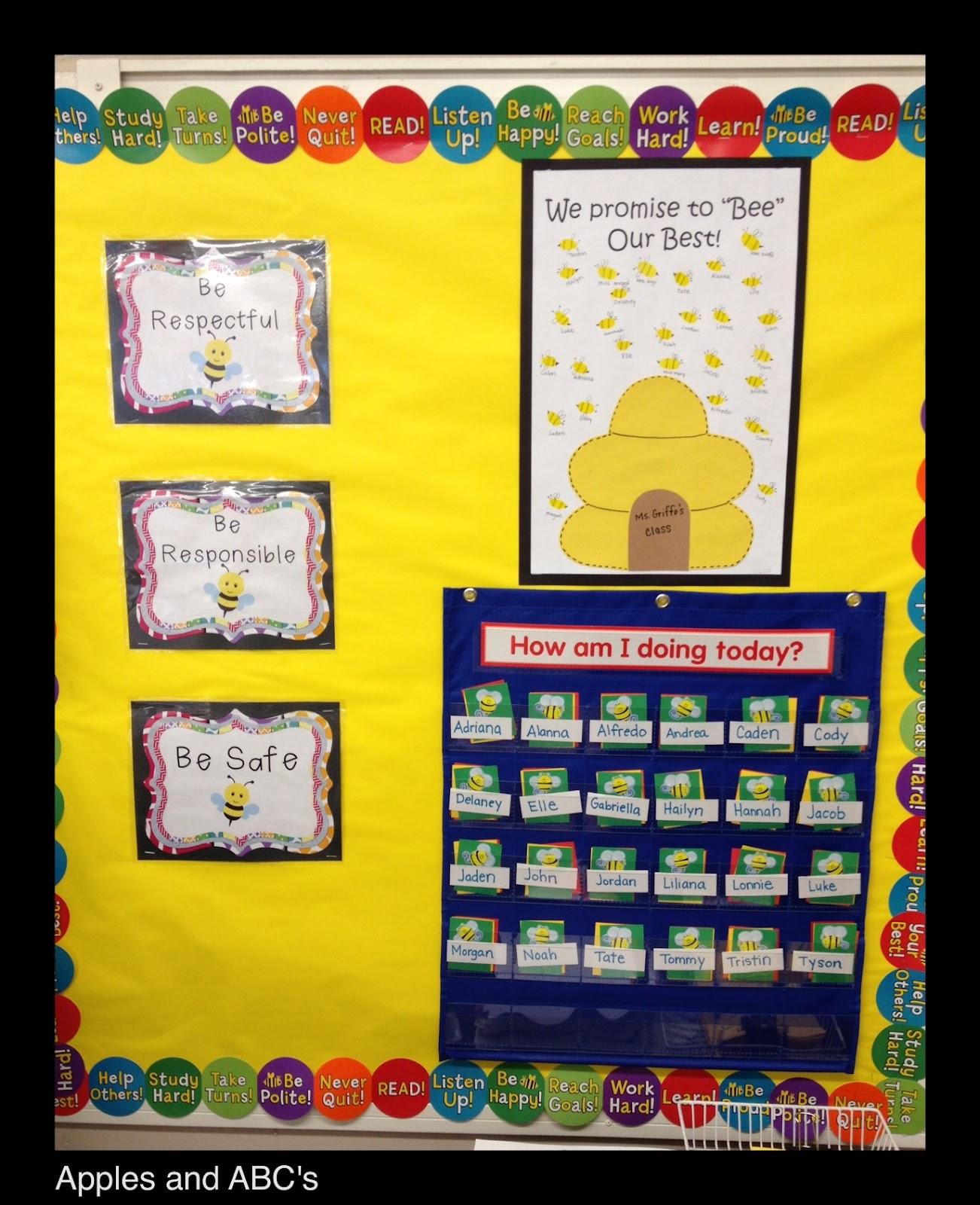 Kindergarten Classroom: Behavior Management: Linky