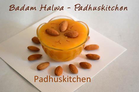 Badam Halwa Recipe How To Make Badam Halwa Padhuskitchen