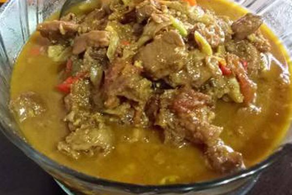 masakan tongseng kambing
