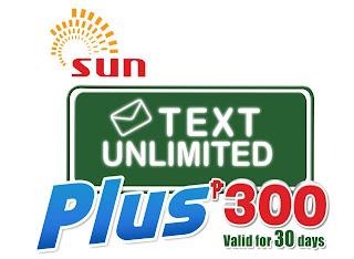Sun Unlimited Text Plus 300