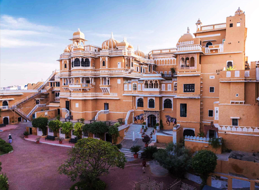 Deogarh Mahal, a luxury heritage resort in Rajasthan