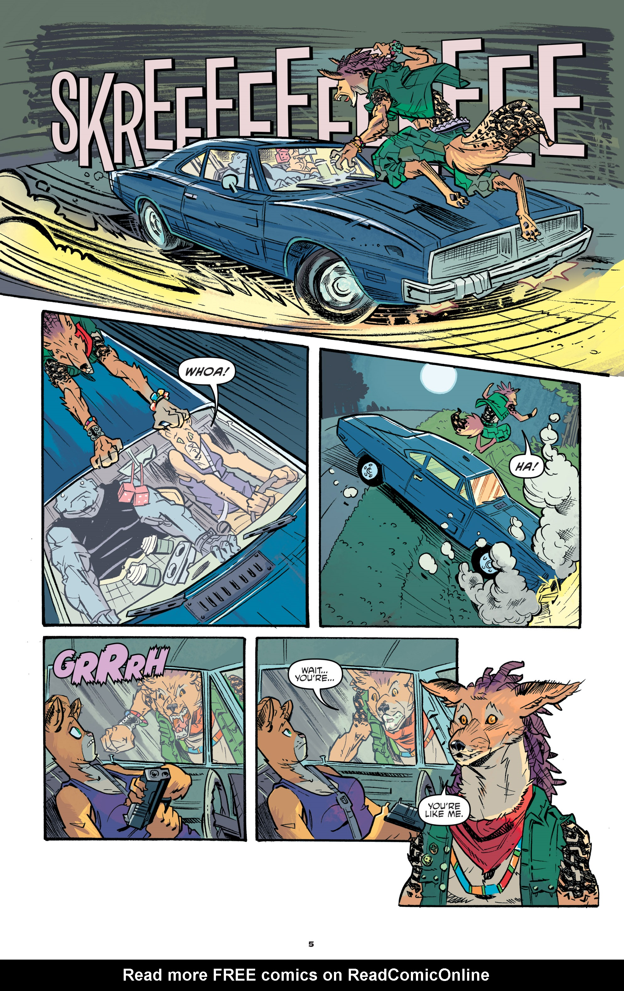 Read online Teenage Mutant Ninja Turtles Universe comic -  Issue #11 - 7