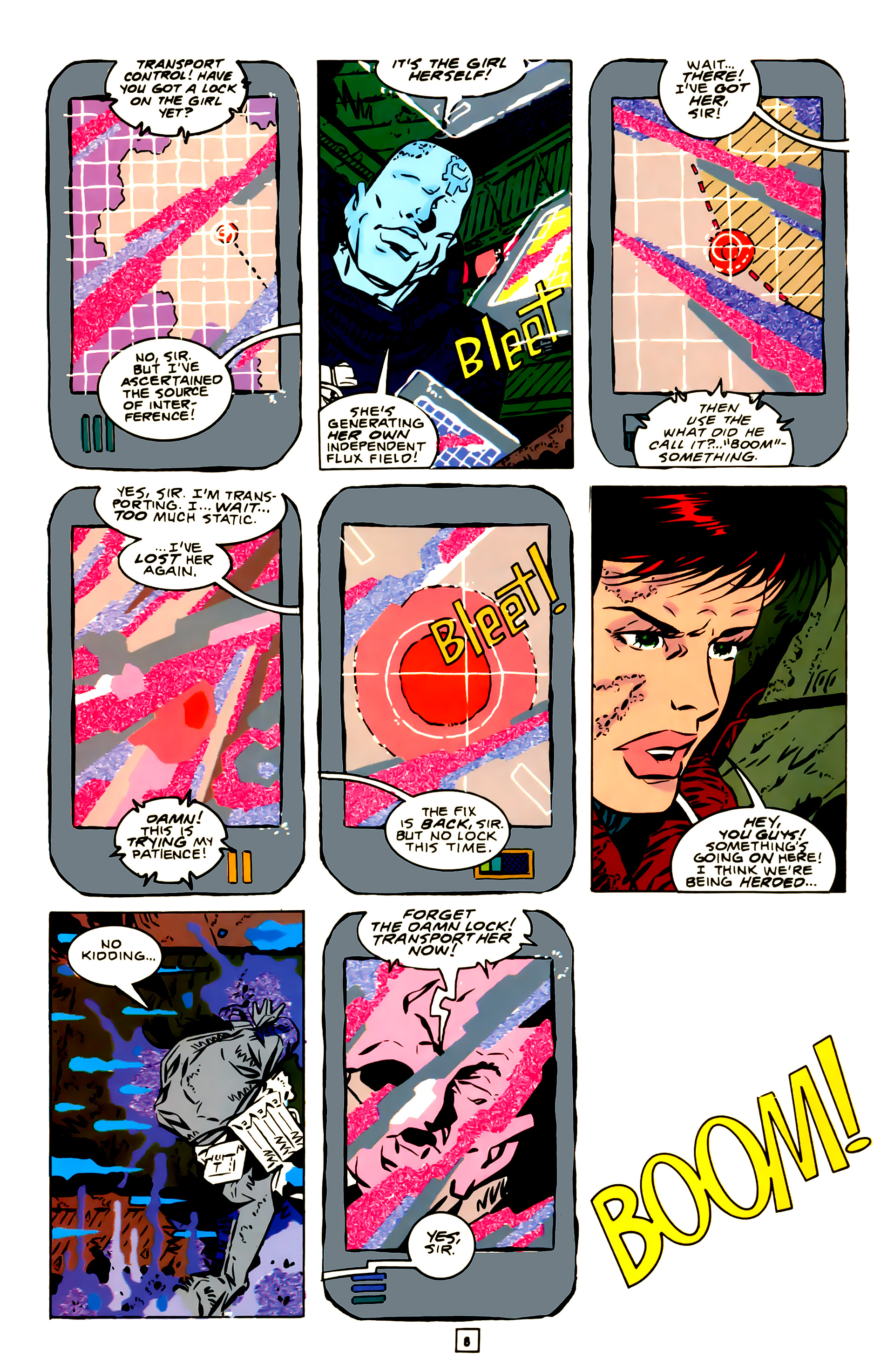 Legion of Super-Heroes (1989) 23 Page 8