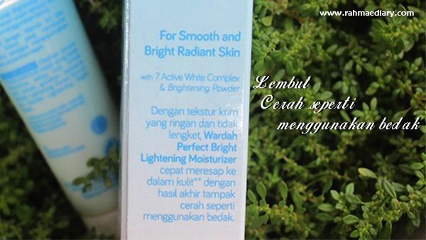 wardah moisturizer