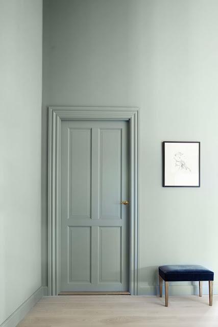 licht groen interieur