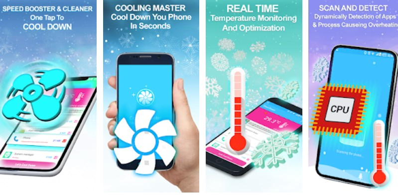 cool down phone app