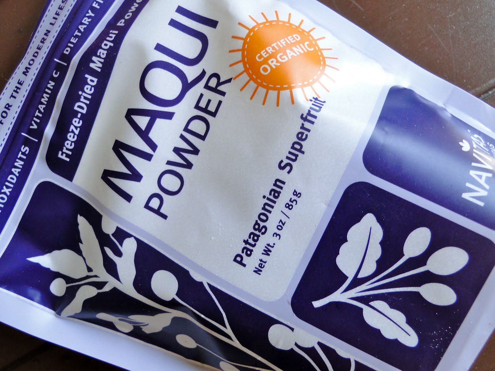 Sketch Free Eating Maqui Berry Smoothie Review