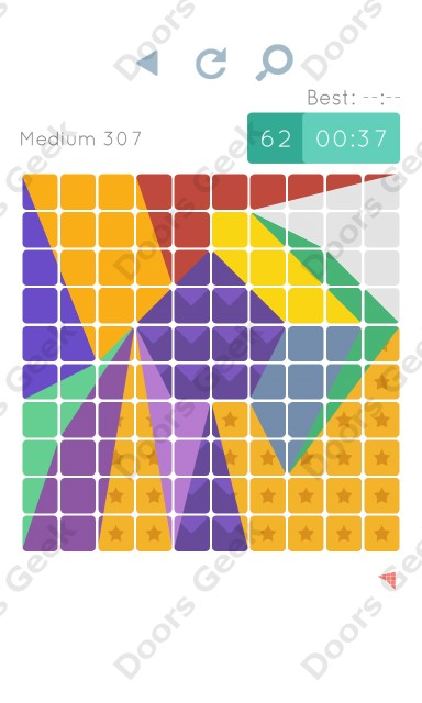 Cheats, Walkthrough for Blocks and Shapes Medium Level 307