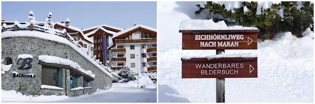 Start, Eichhörnliweg, Eichhörnchenweg, Hotel BelArosa, Arosa