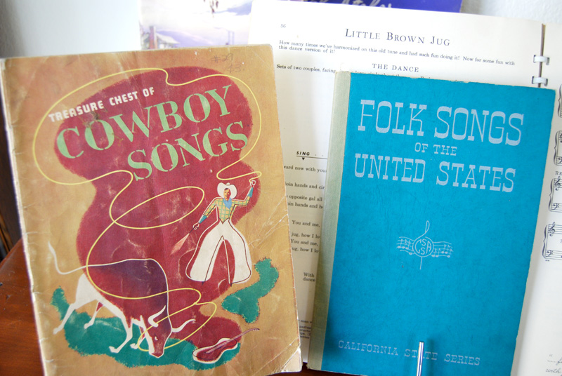 The Copycat Collector: COLLECTION #92: Old Folk Song Books