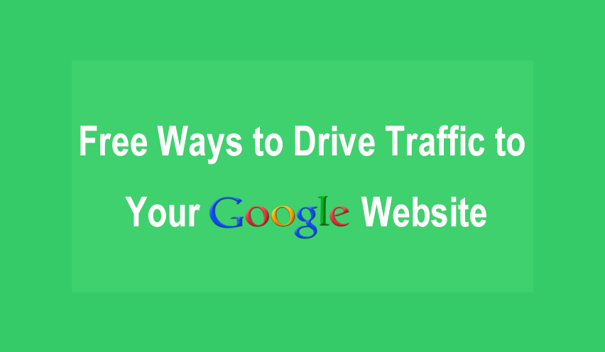 Free Ways to Drive Traffic to Your AdSense Website
