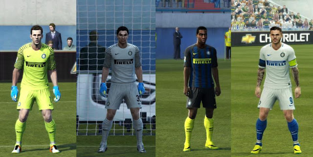 PES 2013 Inter Milan Kit Season 16/17