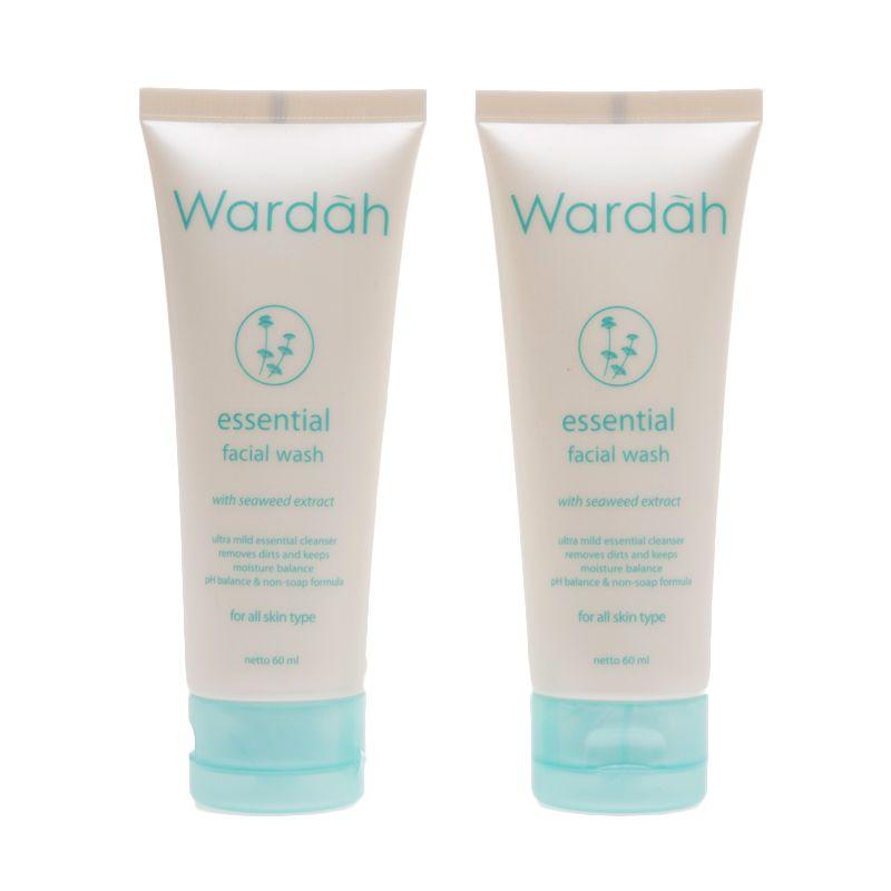 Sabun Muka Wardah Untuk Kulit Kering Wardah Essential Facial Wash