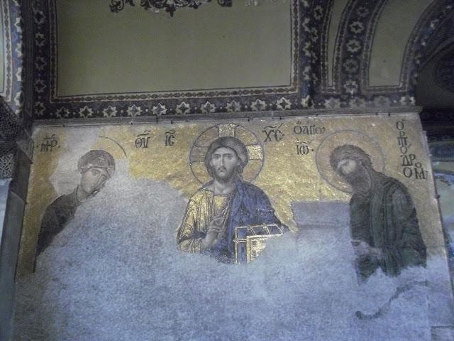 Mosaico en Hagia Sophia