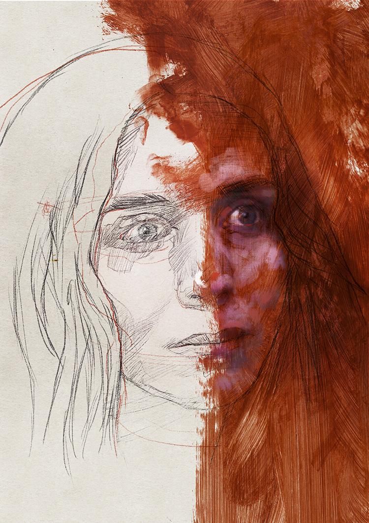 Portrait 255 Mary Magdalene