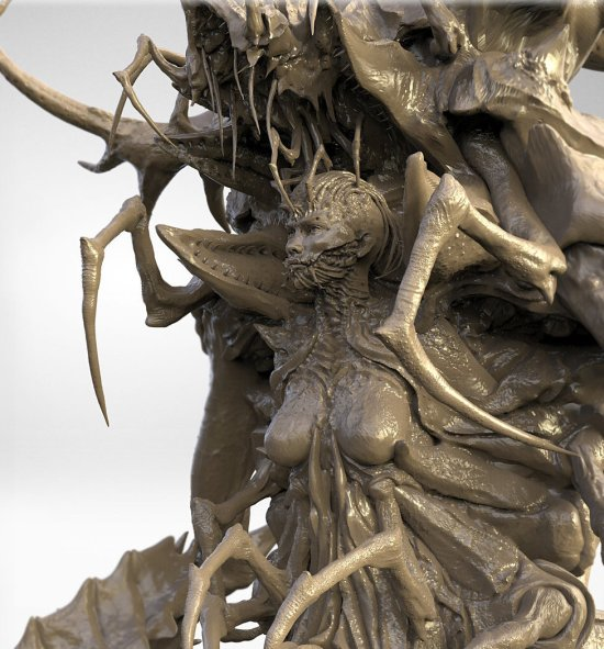 James Suret artstation deviantart arte ilustrações modelos 3D terror fantasia ficção monstros criaturas sombrias