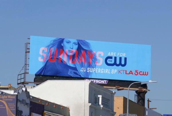 Supergirl season 4 billboard
