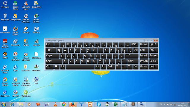 Image result for keyboard di layar komputer Cara Memunculkan Keyboard di Layar Komputer dengan Gampang