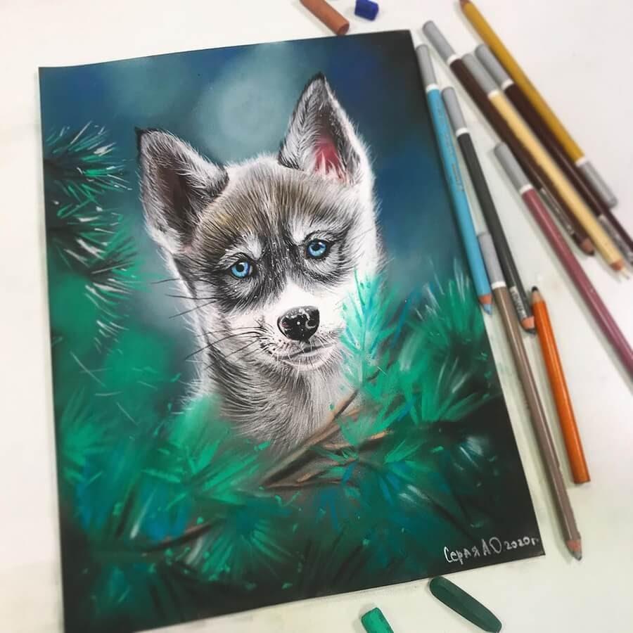 02-Wolf-Cub-Cute-Animals-Анастасия-Серая-www-designstack-co