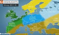 Η πρόβλεψη των Αμερικάνων μετεωρολόγων για το Χειμώνα στην Ελλάδα...