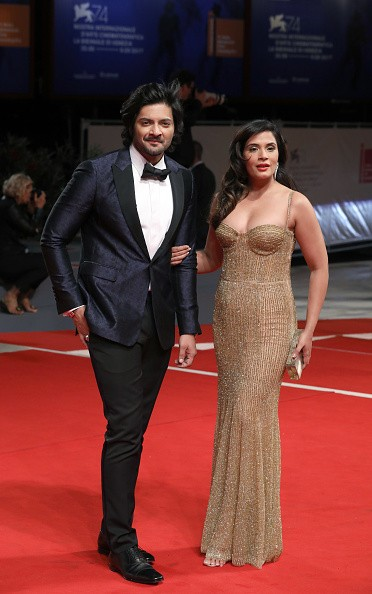 Ali Fazal and Richa Chadha Photoshoot Public at Venice Film Festival