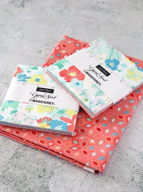 Gypsy Soul fabrics by Basic Grey for Moda Fabrics - found on A Bright Corner