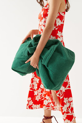 Bolso toalla de Zara