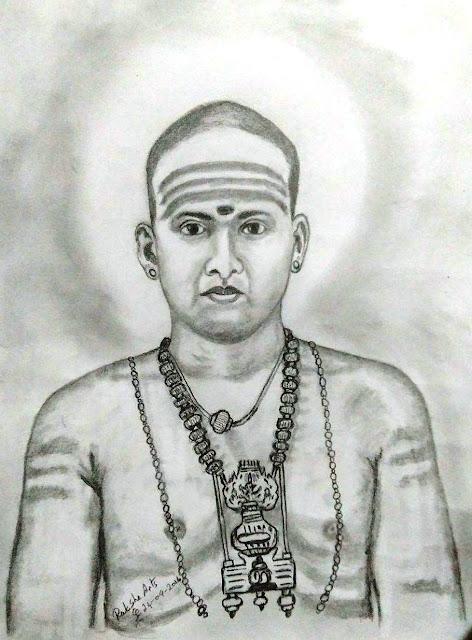 PENCIL DRAWING - Kirupanandha Variyar