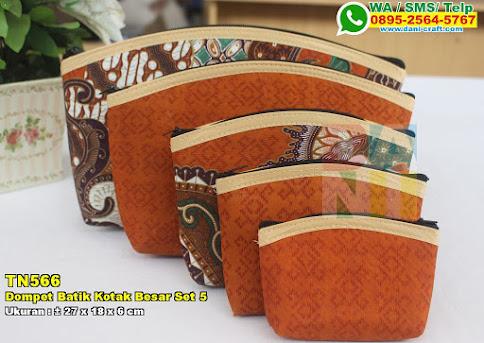 Dompet Batik Kotak Besar Set 5