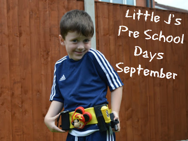 Little J's Pre School Days - September