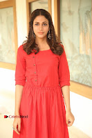 Actress Lavanya Tripathi Latest Pos in Red Dress at Radha Movie Success Meet .COM 0008.JPG