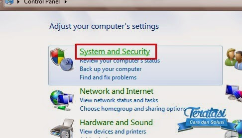 system security - menonaktifkan windows auto update