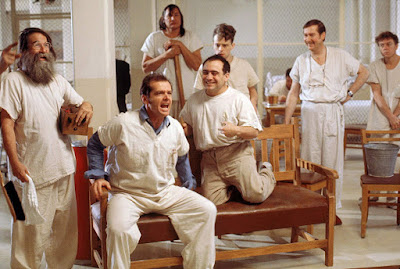 One Flew Over the Cuckoo's Nest 1975 movie Jack Nicholson