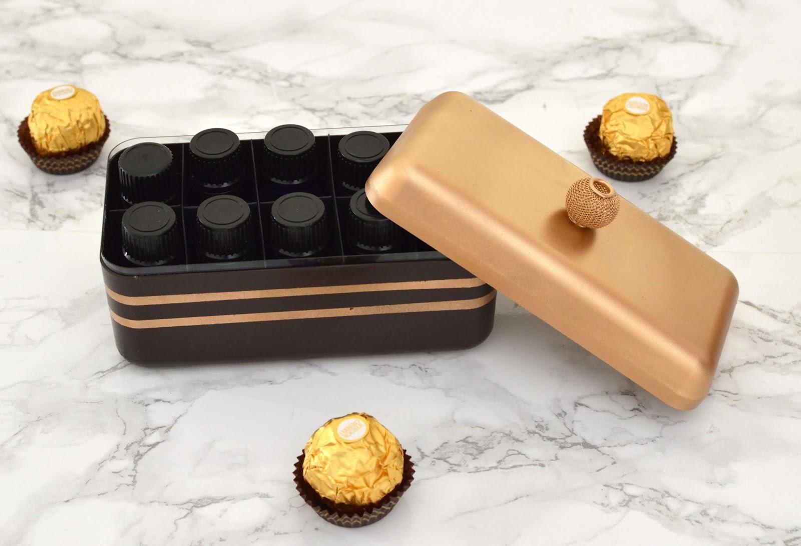Vikalpah Diy Essential Oils Storage Case From Ferrero